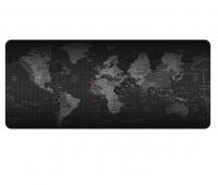 JB LUXX 90x40cm World Map Printed Non-Slip Soft Gaming Mouse Pad - Black Photo