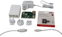 Raspberry Pi Multicomp Pro RPI4-MP-STARTER KIT-WHITE-4GB 4B Starter Kit Photo