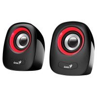 Genius Speaker Sp-Q160 USB Red Photo