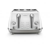 Delonghi - Icona Capitals 4 Slice Toaster - Sydney White Photo