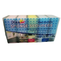 Disa - Cleaning Sponge Scourers for Kitchen and Bathroom Photo