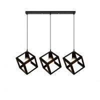 Dr Light DrLight Metal Pendant with Square Box Pattern - Long Strip 3 Cover Photo