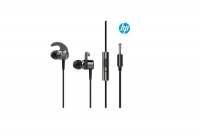 HP In-Ear MultiFunction Musical Earphones - White & Silver Photo