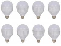 JB LUXX 15W Emergency Rechargeable E27 LED Smart Bulb - Set of 8 Photo