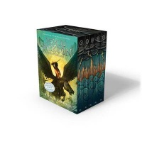 Percy Jackson and the Olympians 5 Book Paperback Boxed Set Photo