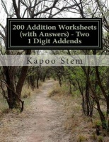 200 Addition Worksheets - Two 1 Digit Addends Photo