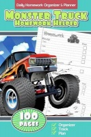 Daily Homework Organizer & Planner Monster Truck Homework Helper Photo