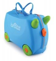 Trunki - Terrence Blue Suitcase Photo