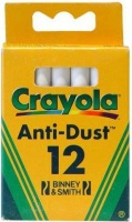 Crayola - 12 White Chalks Photo