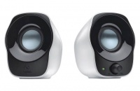 Logitech Z120 USB Stereo Speaker - Black and White Photo