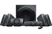 Logitech Z906 Surround Sound Speakers - Black Photo