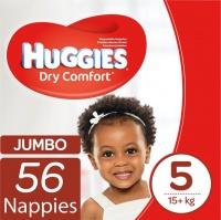 Huggies - Dry Comfort - Size 5 Junior 56 Jumbo Pack Photo