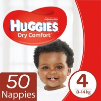 Huggies - Dry Comfort - Size 4 Maxi 50 Photo
