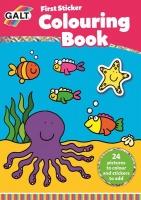 GALT - First Sticker Colouring Book Photo