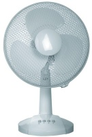 Goldair - 40cm Oscillating Desk Fan - White Photo