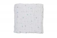 Baby Sense - Muslin Receiving Blanket - Blue Photo