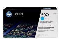 HP 507A Cyan LaserJet Toner Cartridge Photo