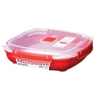 Sistema - To Go 1.3 Litre Microwave Plate - Large Photo