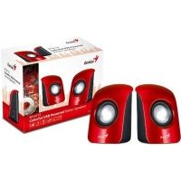 Genius S115 Compact Portable Speakers - Red Photo