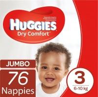 Huggies - Dry Comfort Size 3 76 Photo