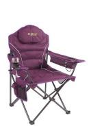 OZtrail - Modena Armchair - Purple Photo