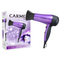 Carmen Studio 1800W Hairdryer - Purple Photo