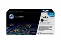 HP 124A Black LaserJet Toner Cartridge Photo