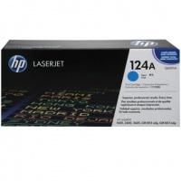 HP 124A Cyan LaserJet Toner Cartridge Photo