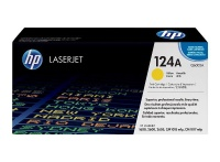 HP 124A Yellow LaserJet Toner Cartridge Photo