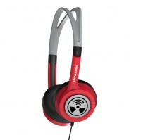 iFrogz Ear Pollution Toxix Red Headphones Photo