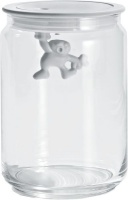 Alessi - 900ml Gianni Jars - White Photo