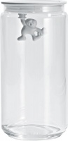 Alessi - 1.4 Litre Gianni Jars - White Photo
