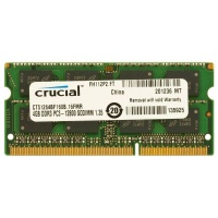 Crucial 4GB 1600MHz DDR3L SO-DIMM Laptop Memory Photo