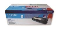 Brother TN-348C Cyan Laser Toner Cartridge Photo