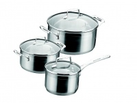 Scanpan - Impact 3 Piece Cookware Set With Lids Photo