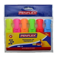 Penflex Highlighter HiGlo - Assorted Photo