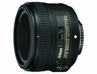 Nikon 50mm F1.8G AF-S Lens Photo