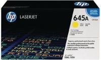 HP 645A Yellow LaserJet Toner Cartridge Photo
