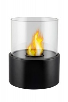 1green Table Styled Ethanol Fireplace - Black Photo