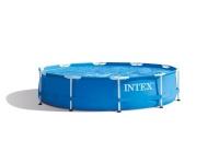 INTEX Pool - Metal Frame - With Pump Photo
