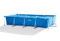 Intex - Frame Pool - Square - Blue Photo