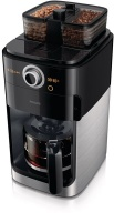 Philips - Grind and Brew Coffee Machine - Black Photo