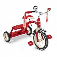 Radio Flyer Classic Red Dual Deck Tricycle - Red Photo