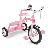 Radio Flyer Classic Pink Dual Deck Tricycle - Pink Photo