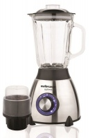 Mellerware - Optima Stainless Steel Blender With Coffee Grinder Photo