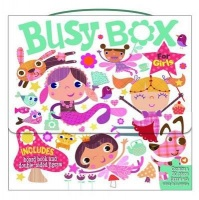 Busy Box for Girls- Book and Jigsaw Puzzle Set Photo