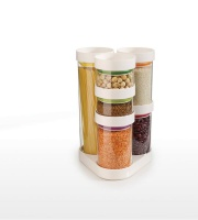 Joseph Joseph - Food Store Jars Carousel - White Photo