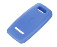 Nokia Soft Cover Asha 306 - Blue Cellphone Cellphone Photo