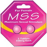 Maximum Sexual Stimulant For Female - 2 x 550mg Tablets Photo