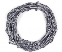 The Earth Collection Long Scarf Neckless - Sapphire Stripe Photo